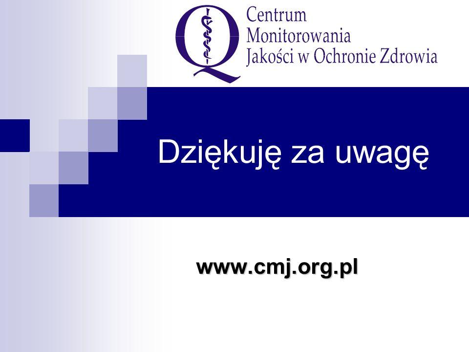 Dziękuję za uwagę www.cmj.org.pl