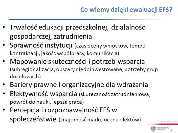 8 Co wiemy dzięki ewaluacji EFS.