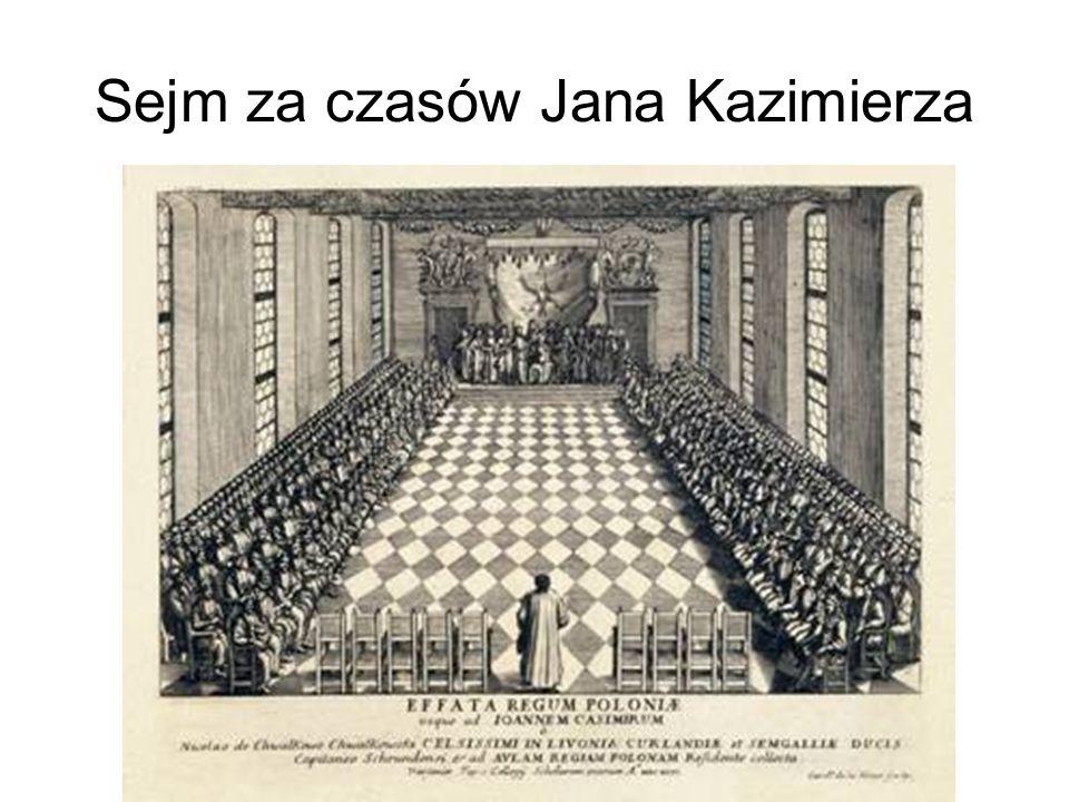 Sejm za czasów Jana Kazimierza