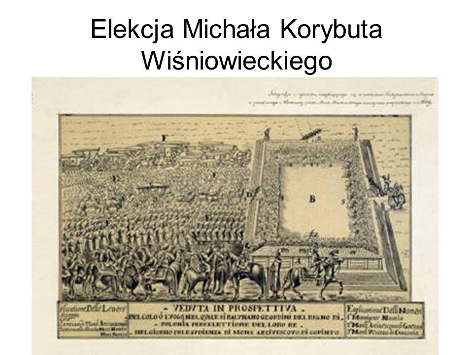 Elekcja Michała Korybuta Wiśniowieckiego