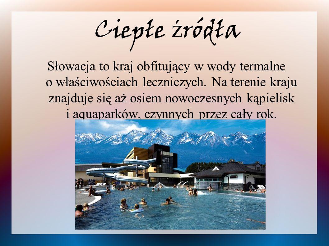 Ciepłe ź ródła Słowacja to kraj obfitujący w wody termalne o właściwościach leczniczych.
