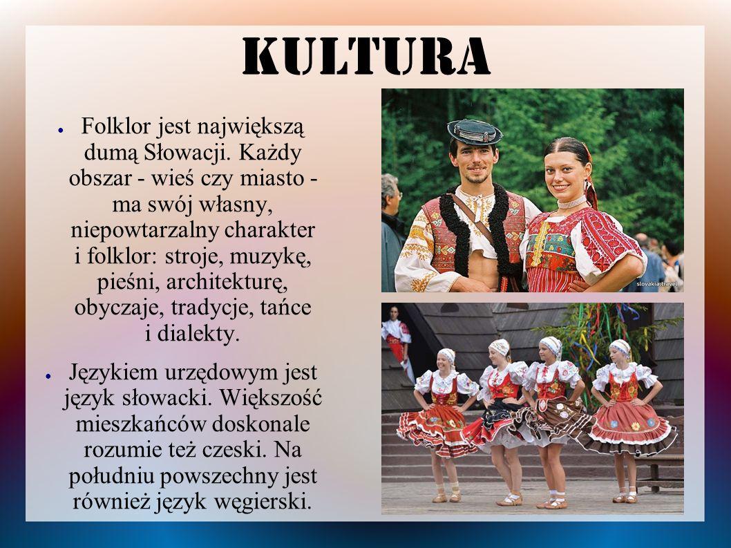 Kultura Folklor Słowacji posiada wiele zwyczajów i obrzędów znanych także w Polsce.
