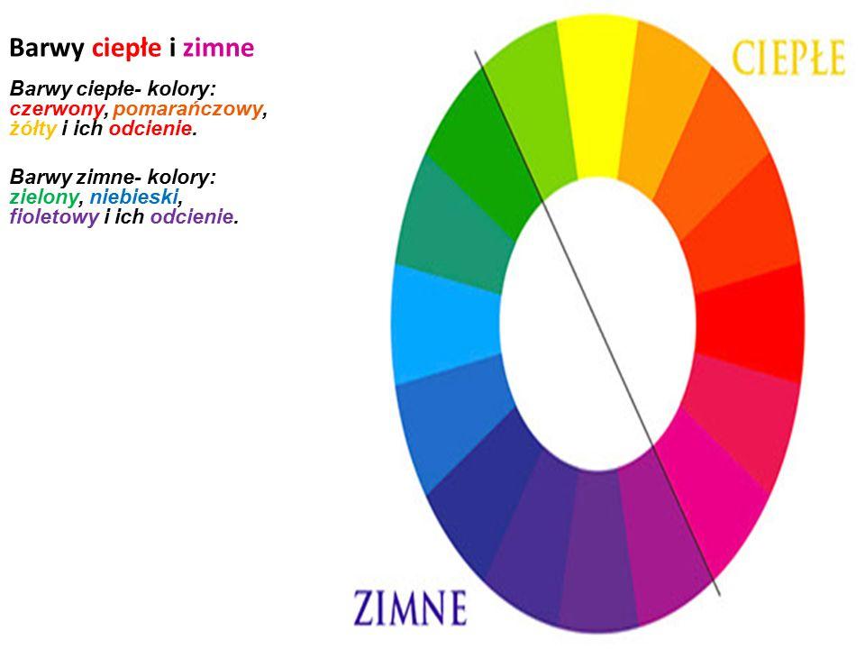 BARWY PODSTAWOWE I POCHODNE Barwy podstawowe- barwy, których nie można uzyskać ze zmieszania jakichkolwiek innych barw. Są to kolory: czerwony, żółty