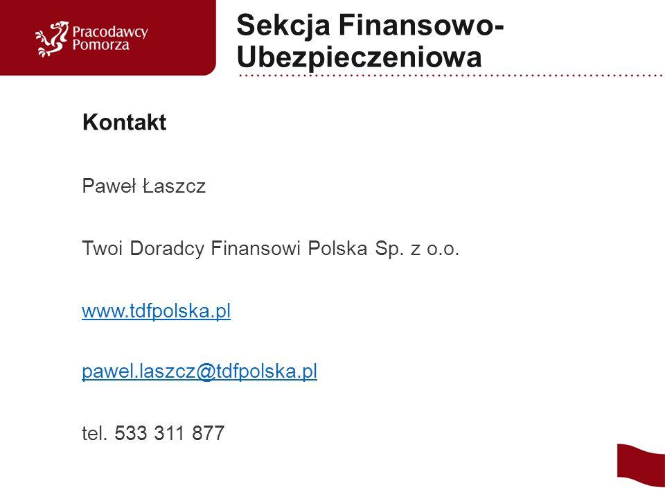 Paweł Łaszcz Twoi Doradcy Finansowi Polska Sp. z o.o.