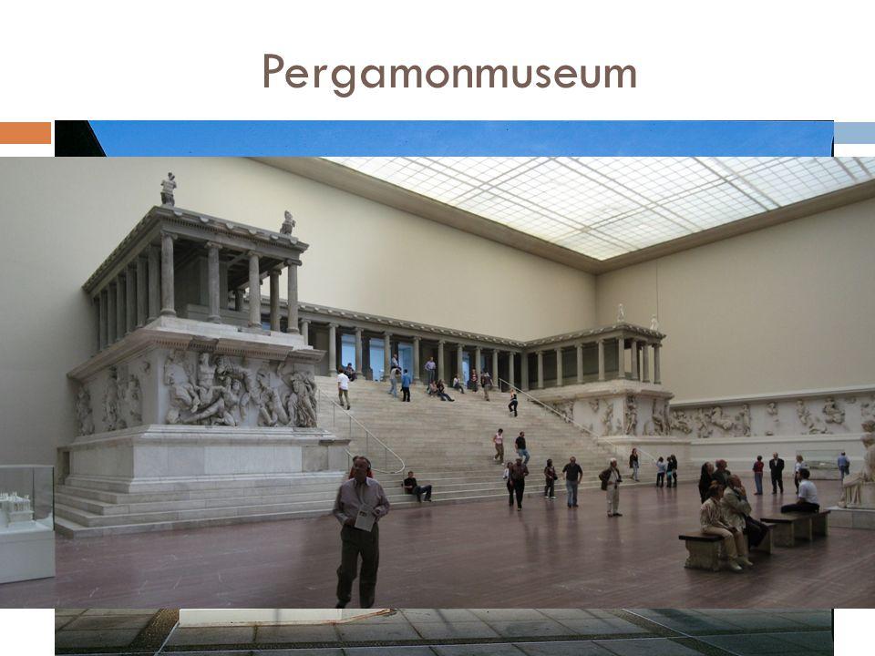 Pergamonmuseum Muzeum znajdujące się w Berlinie, w którym zrekonstruowano Wielki Ołtarz Zeusa (ołtarz pergamoński ).