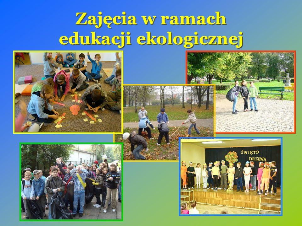 Zajęcia w ramach edukacji ekologicznej