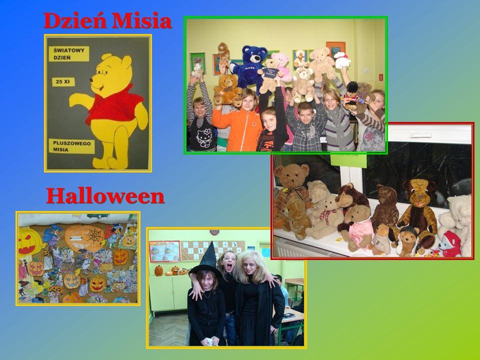 Halloween Dzień Misia
