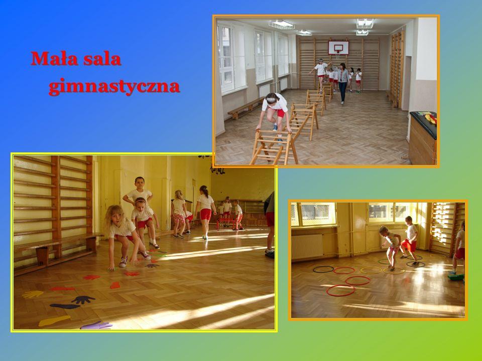 Mała sala gimnastyczna Mała sala gimnastyczna