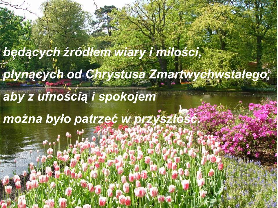 Życzenia pełnych umocnienia i radosnej nadziei Świąt Wielkanocnych