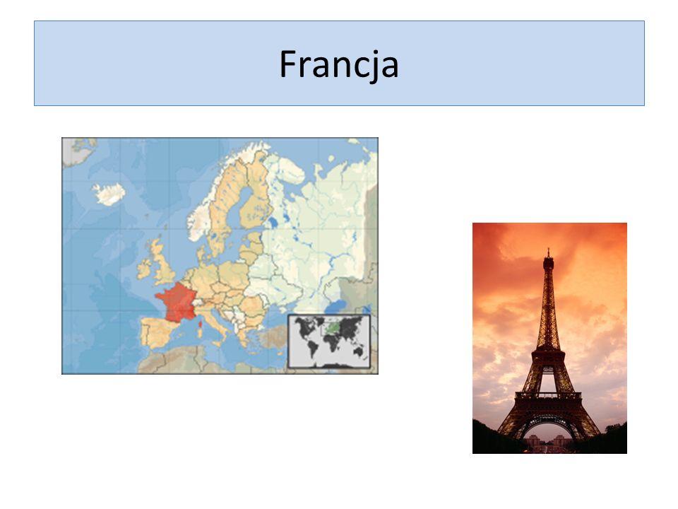 Republika Francji Francja należy do mocarstw europejskich.