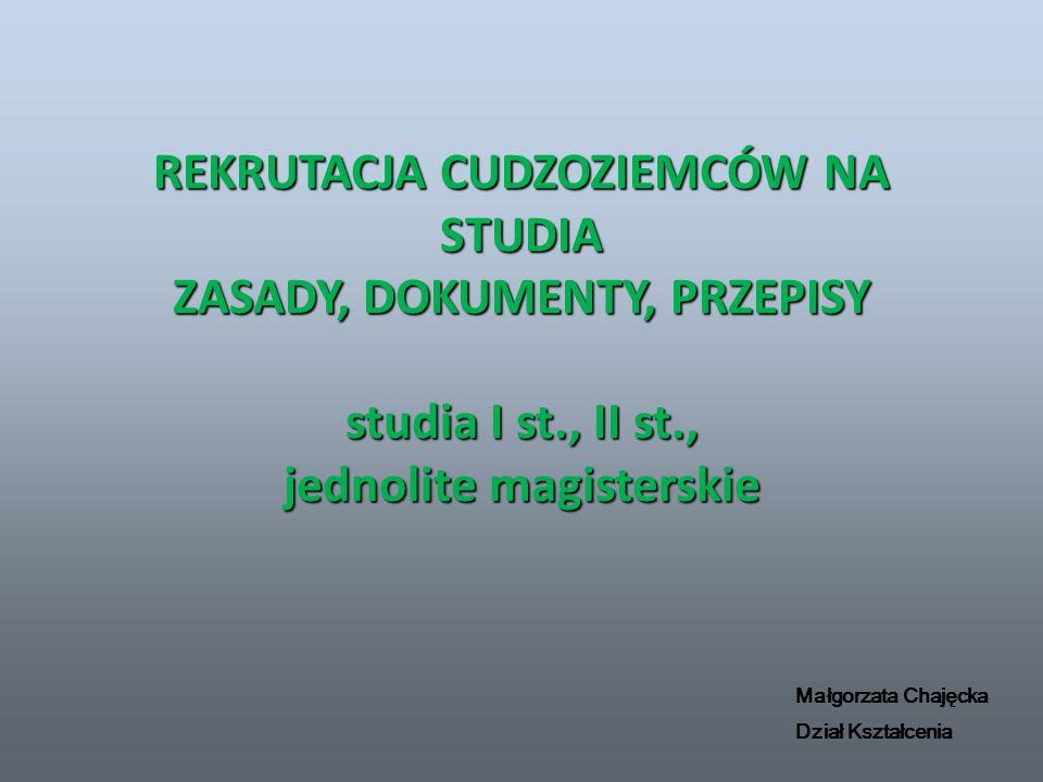 OBYWATELSTWO POLAK CZY CUDZOZIEMIEC POLAK – obywatelstwo polskie CUDZOZIEMIEC – inne obywatelstwo niż polskie