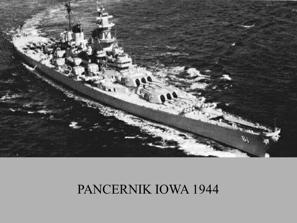 PANCERNIK IOWA 1944