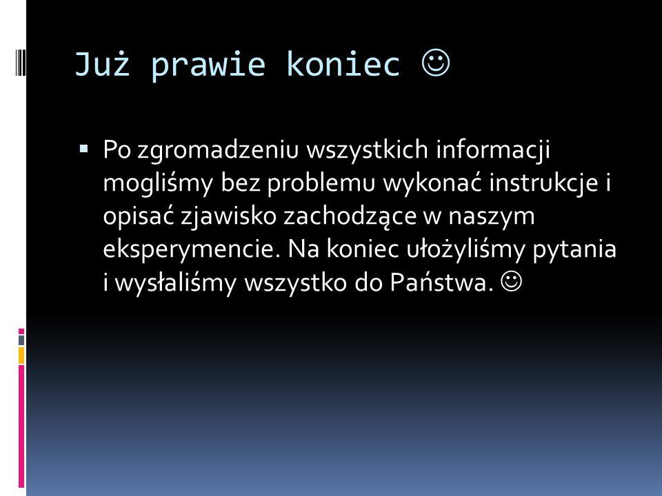 KONIEC Dziękujemy za uwagę. Kornel Prusik Bartłomiej Żabik.