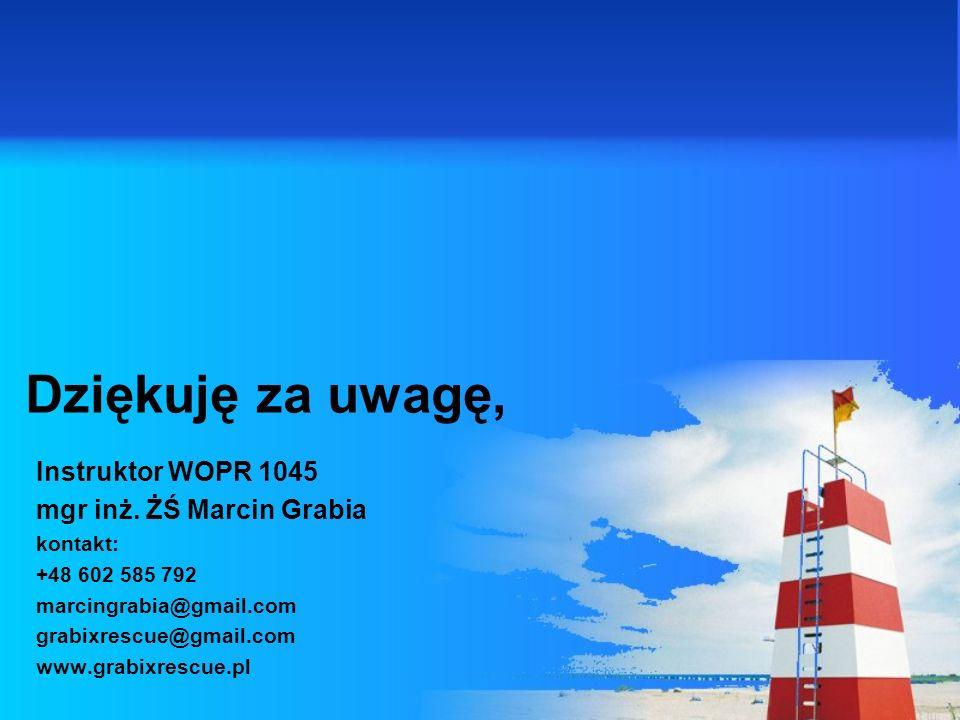 Instruktor WOPR 1045 mgr inż.