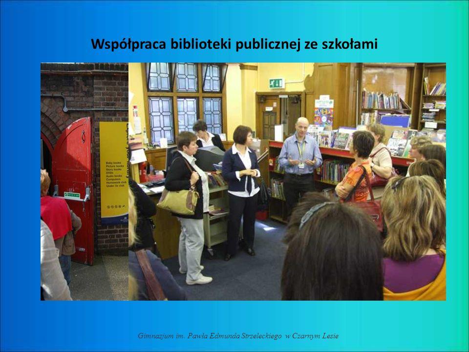 Współpraca biblioteki publicznej ze szkołami Gimnazjum im.