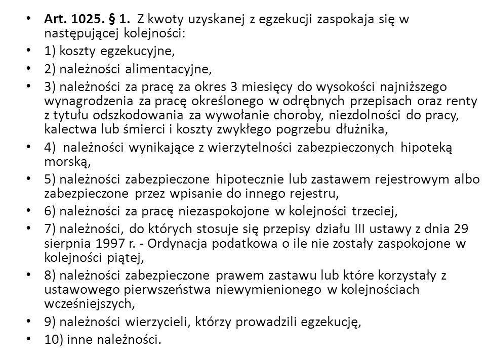 Art. 1025. § 1.