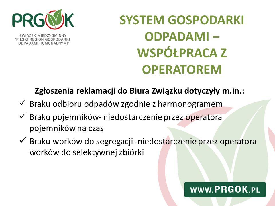 Szczegółowe informacje dotyczące funkcjonującego systemu, zamieszczone zostały w odrębnym dokumencie pn.