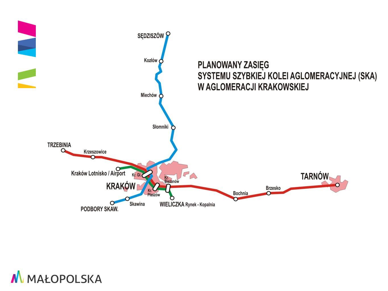 Projekt realizowany przez Województwo Małopolskie w ramach MRPO na lata 2007-2013 - nowoczesny system zarządzania transportem.