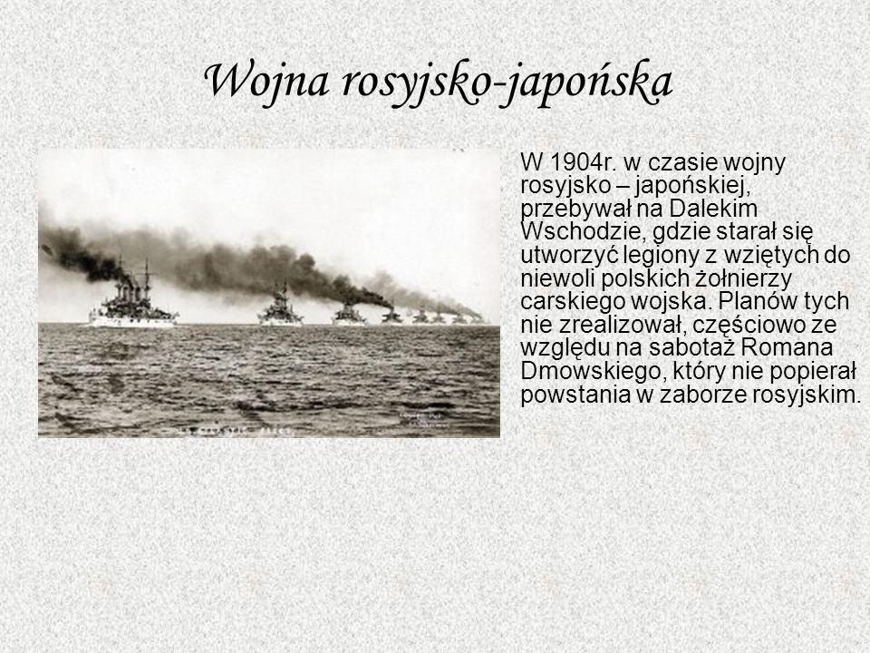 Wojna rosyjsko-japońska W 1904r.