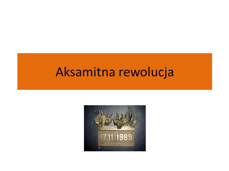 Aksamitna rewolucja