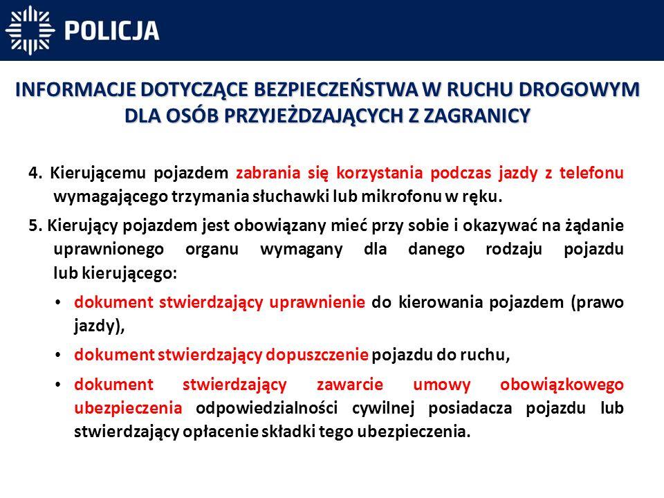 6.W Polsce pieszy nie ma pierwszeństwa zbliżając się do przejścia dla pieszych.