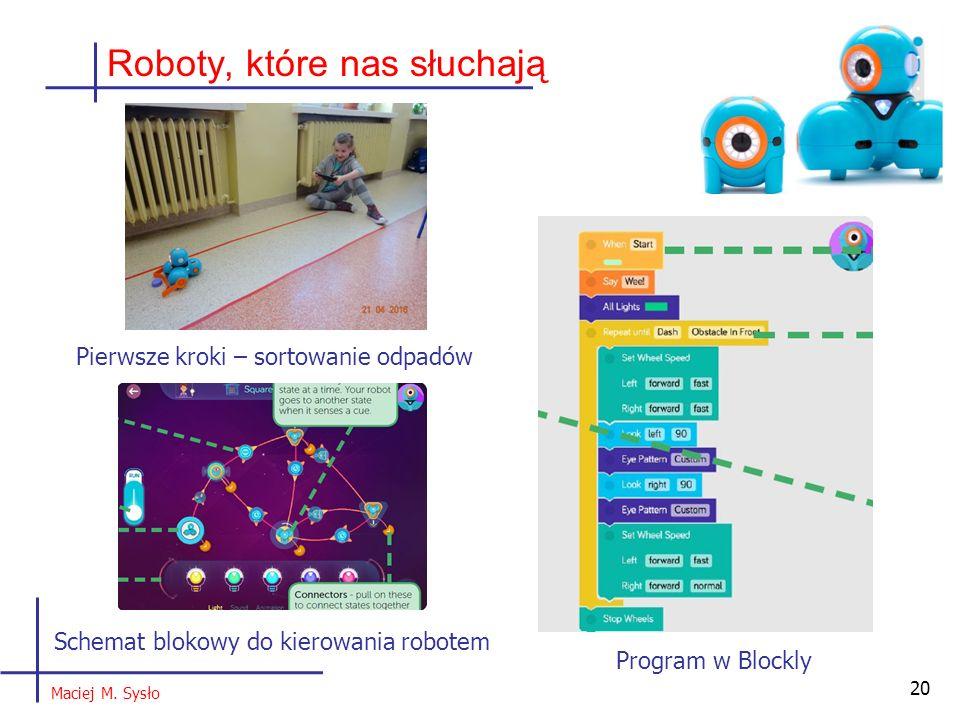 20 Roboty, które nas słuchają Maciej M.