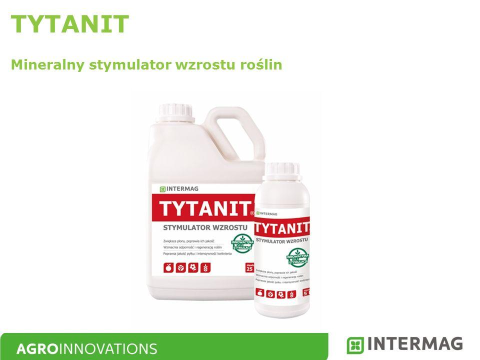 Korzystny wpływ jonów tytanu na rośliny jest efektem co najmniej 4 różnych mechanizmów działania Sposób działania