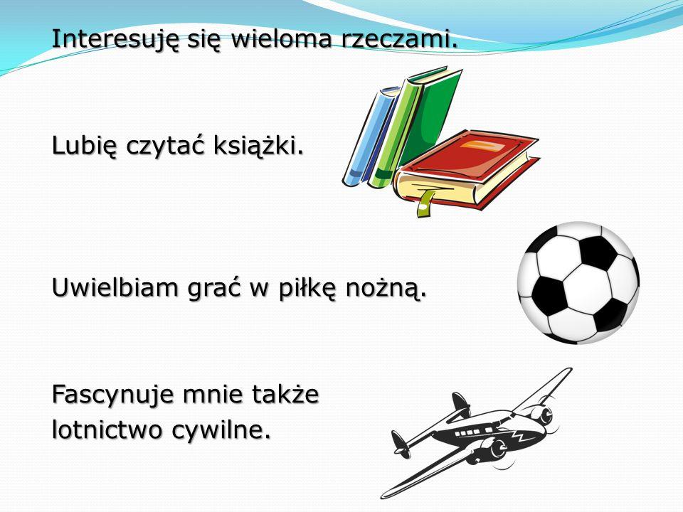 Postanowiłem startować w tych wyborach, ponieważ mam kilka ciekawych pomysłów, które jako przewodniczący Samorządu Uczniowskiego chciałbym zrealizować.