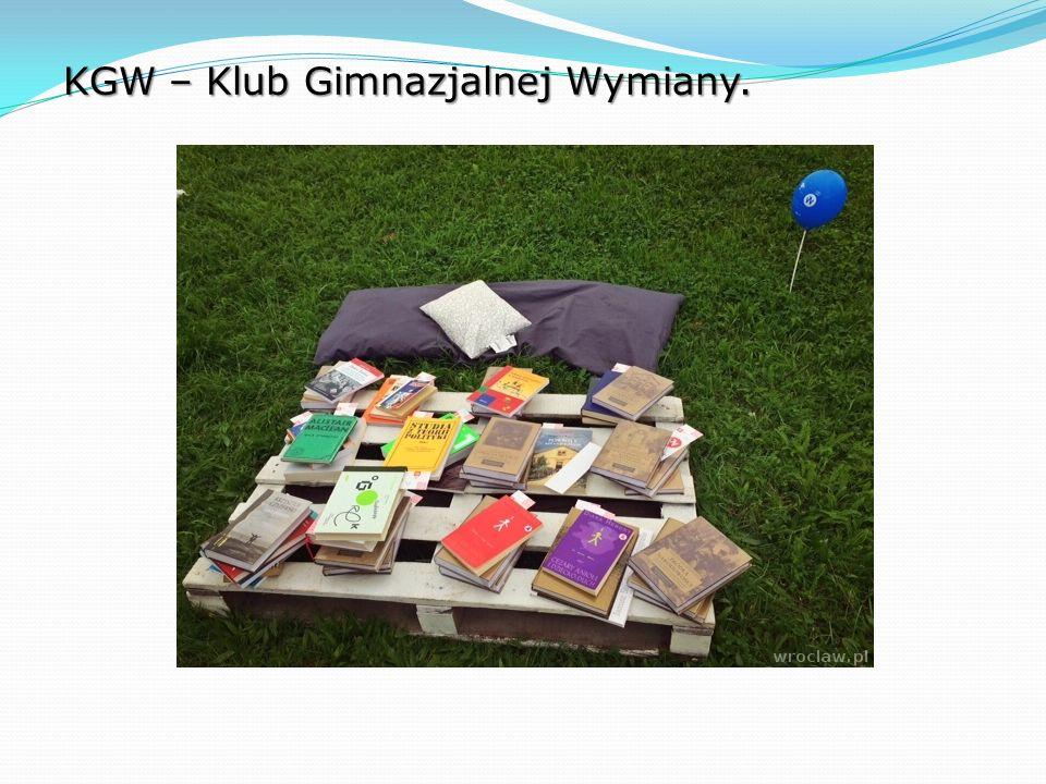 KGW – Klub Gimnazjalnej Wymiany.
