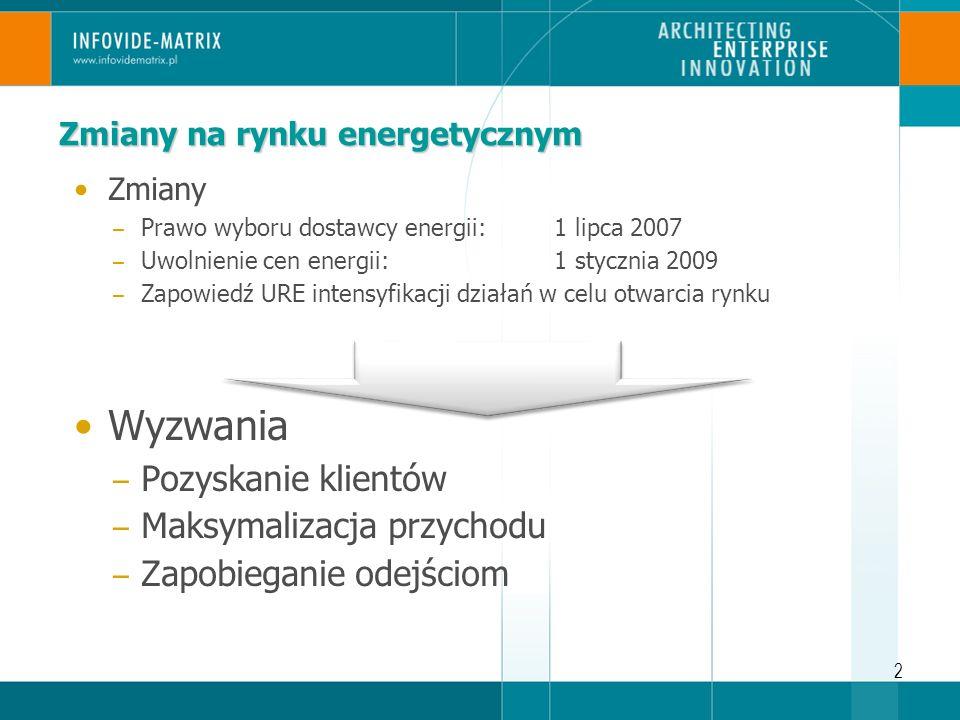 13 Wartość klienta w Energetyce – wyzwania Wartość klienta Segmenty rentowne.