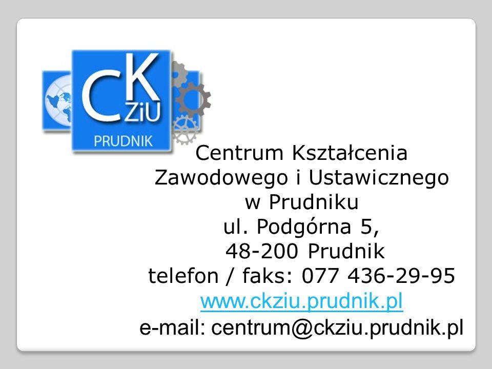 Centrum Kształcenia Zawodowego i Ustawicznego w Prudniku ul.