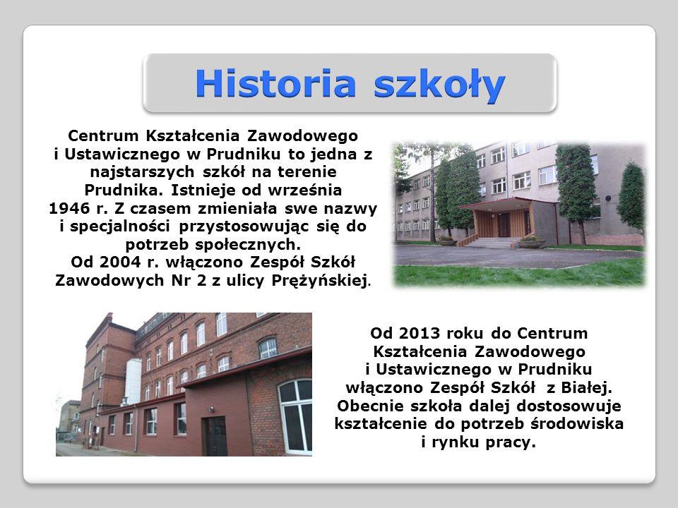 Centrum Kształcenia Zawodowego i Ustawicznego w Prudniku to jedna z najstarszych szkół na terenie Prudnika.