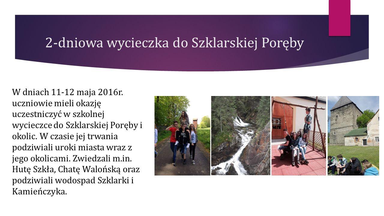 2-dniowa wycieczka do Szklarskiej Poręby W dniach 11-12 maja 2016r.