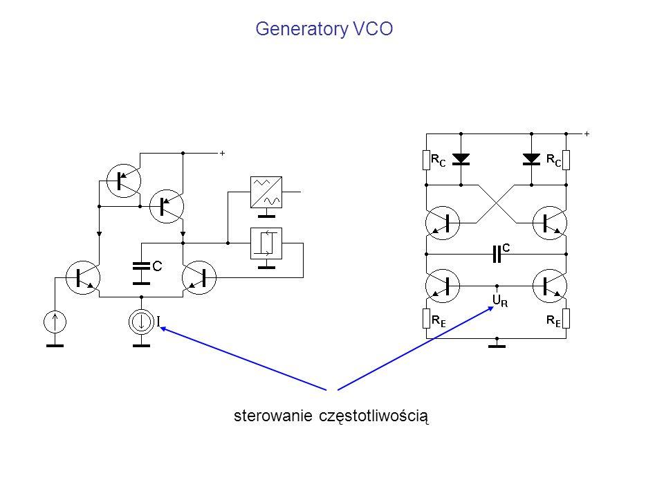 Generatory VCO sterowanie częstotliwością