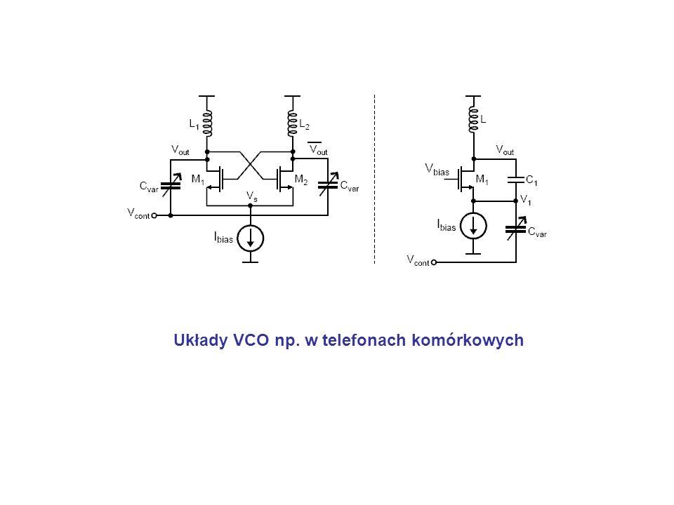 Układy VCO np. w telefonach komórkowych