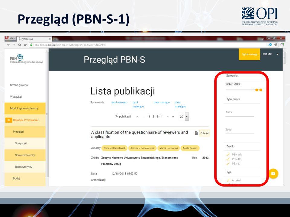 Przegląd (PBN-S-1)