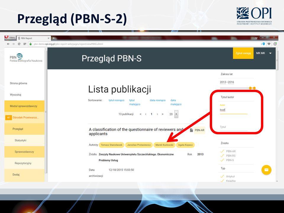 Przegląd (PBN-S-2)