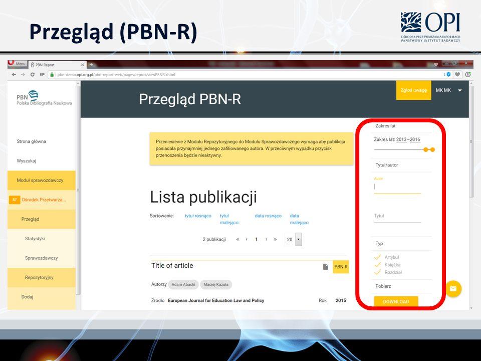 Przegląd (PBN-R)