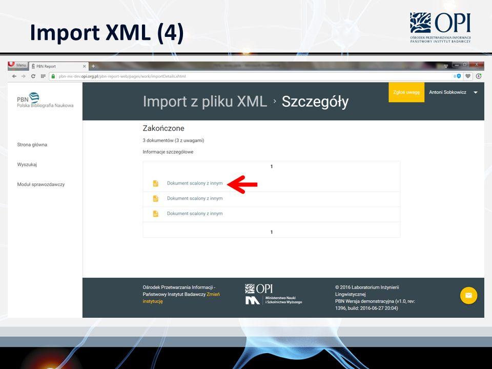Import XML (4)