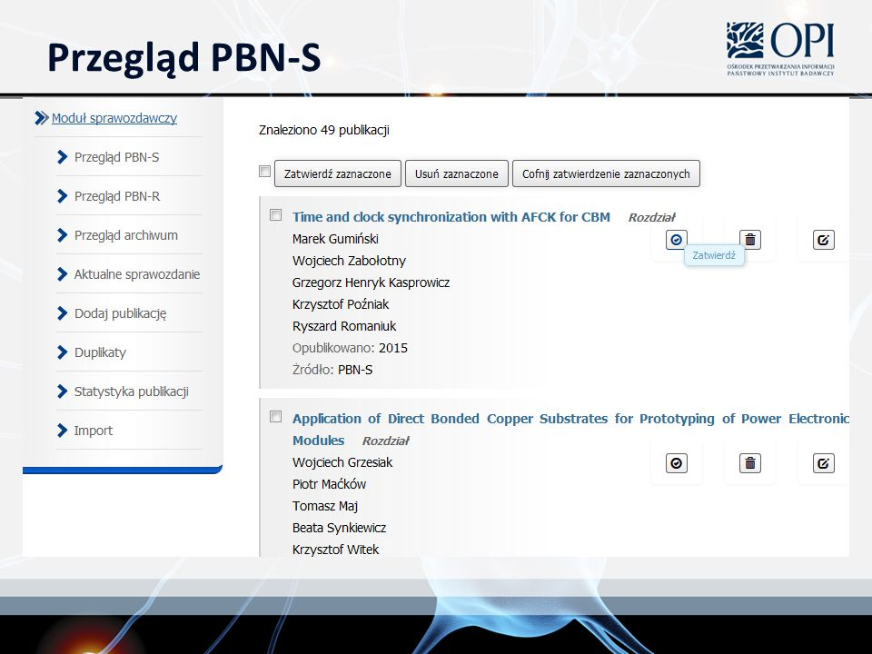 Przegląd PBN-S