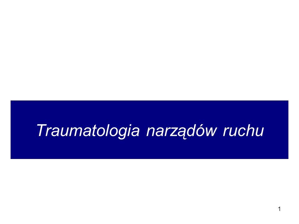 1 Traumatologia narządów ruchu