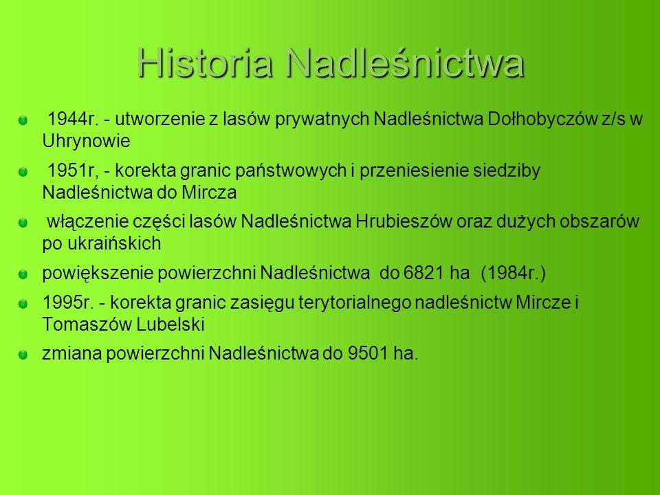 Historia Nadleśnictwa 1944r.