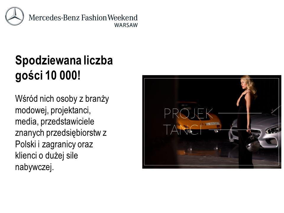 Spodziewana liczba gości 10 000! Wśród nich osoby z branży modowej, projektanci, media, przedstawiciele znanych przedsiębiorstw z Polski i zagranicy o
