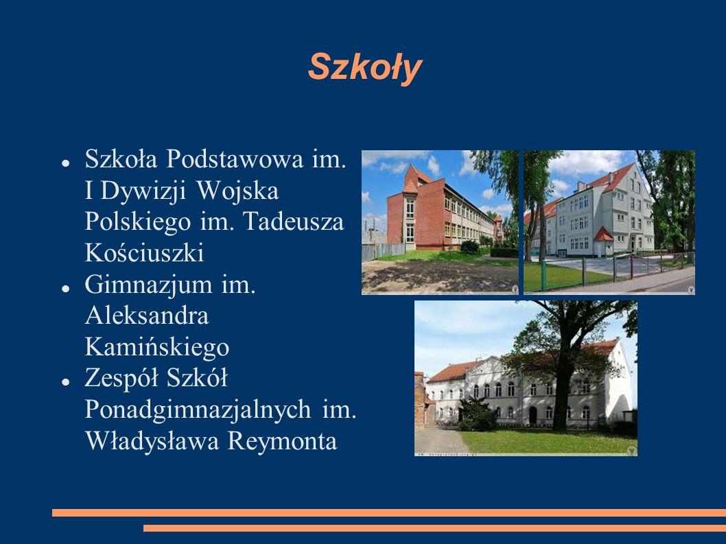 Szkoły Szkoła Podstawowa im. I Dywizji Wojska Polskiego im.