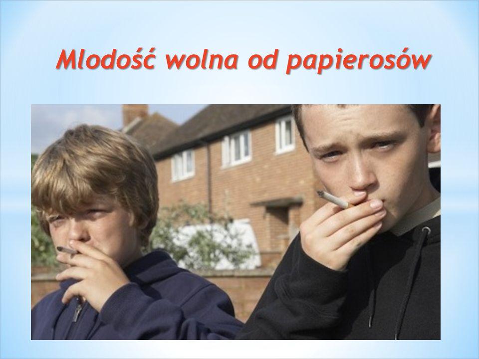 Mlodość wolna od papierosów