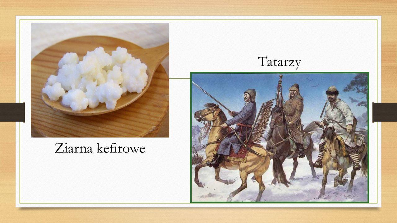 Ziarna kefirowe Tatarzy