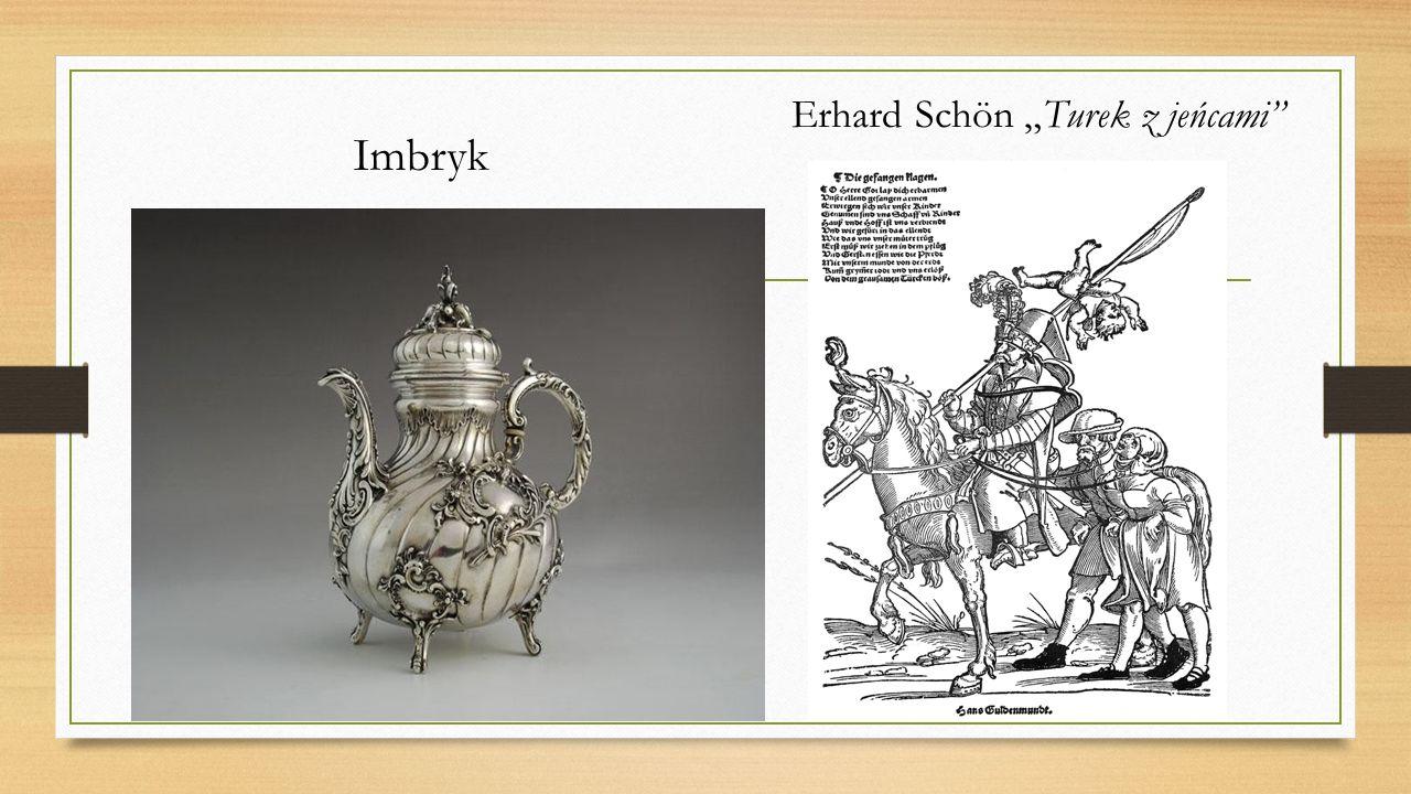 "Erhard Schön ""Turek z jeńcami"" Imbryk"