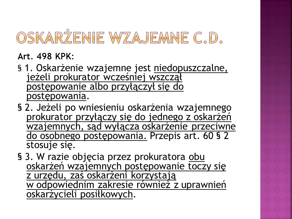 Art. 498 KPK: § 1.