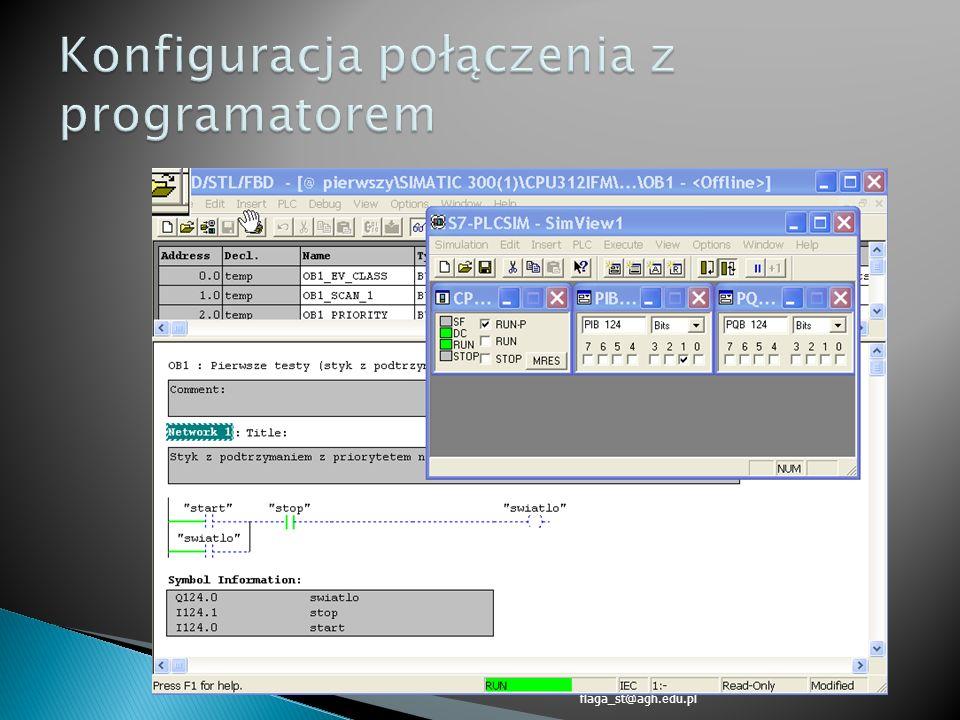 S7-300.:: Konfiguracja Programowanie Symulacja ::. flaga_st@agh.edu.pl