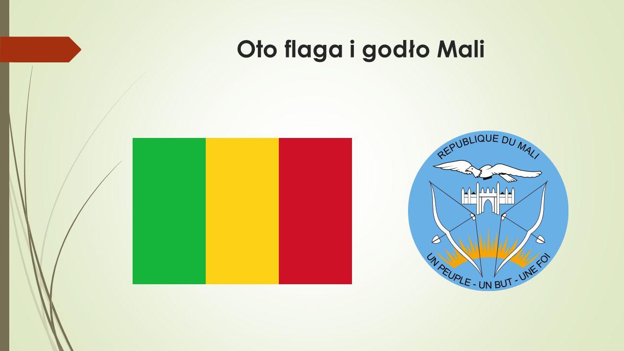 Oto flaga i godło Mali